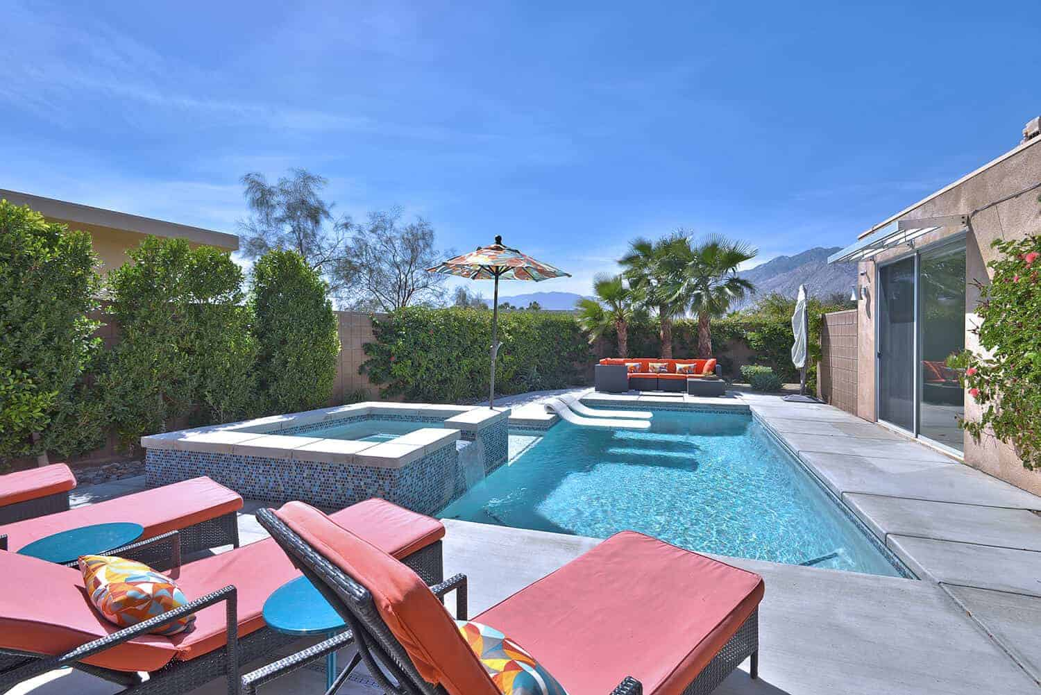 Palm Springs Pool View Scott and Jim Desert Homes