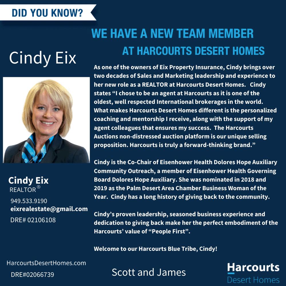 1 Cindy Eix press release FINAL